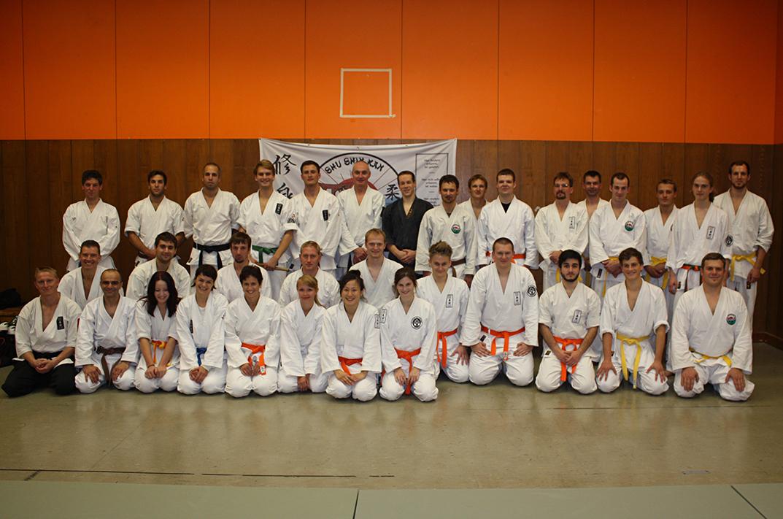 Die Teilnehmer des Lehrgangs
