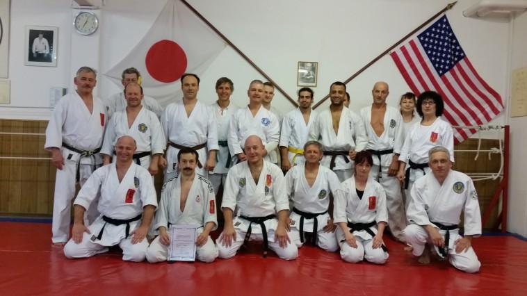 Prof. Dr. W. Cynarski zu Besuch in der Jiu-Jitsu- und Karate-Schule Sieber